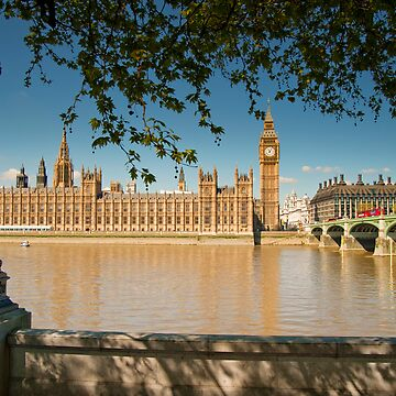 Houses of Parliament from the Southbank: London, UK by DonDavisUK