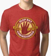 Slap Bet Commissioner Tri-blend T-Shirt