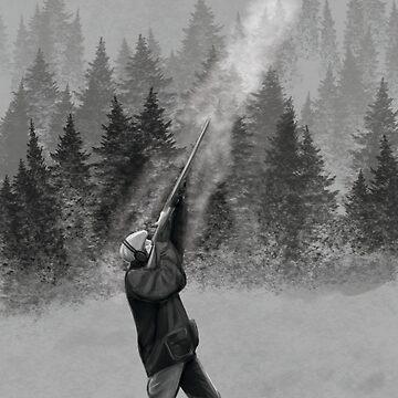 Shooting in Winter by Morware