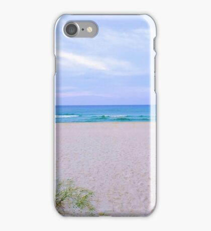 Walking DownTo The Beach iPhone Case/Skin