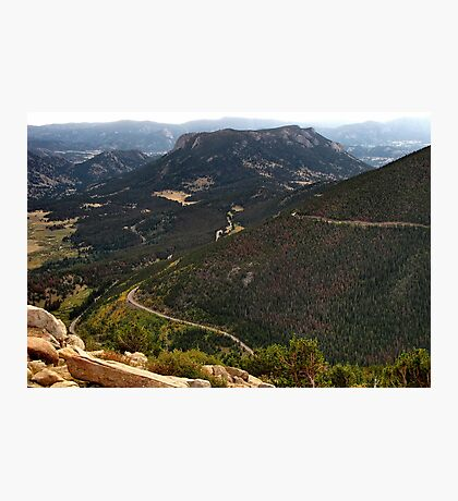 Trail Ridge Road/Looking back Photographic Print