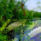 Lake in Deep Summer  by fiat777
