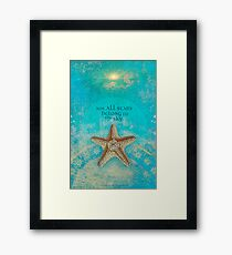 Not All Stars Belong to the Sky Framed Print