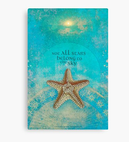 Not All Stars Belong to the Sky Canvas Print