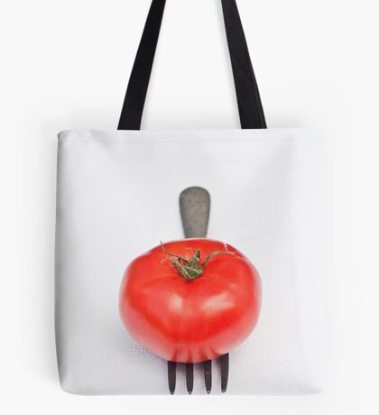 Tomato and Fork Tote Bag