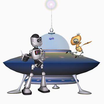 My Best Friend .. a robots tale by LoneAngel
