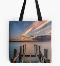 Ryde Pier Structure Isle Of Wight Tote Bag