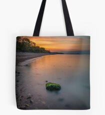 Rocky Woodside Bay Beach Isle Of Wight Tote Bag