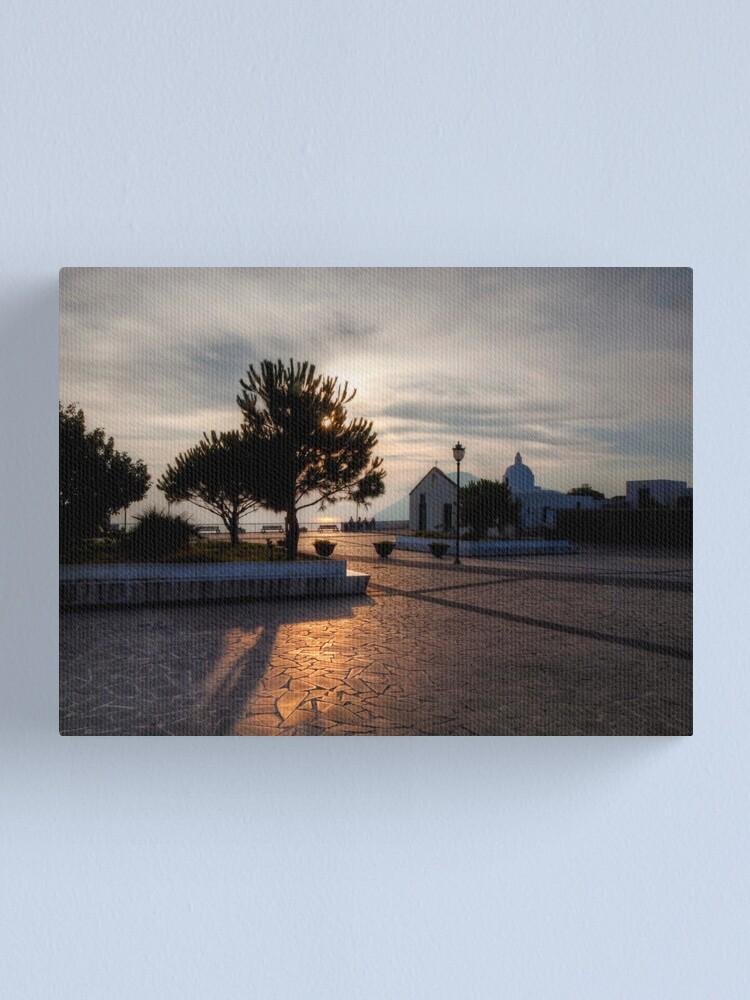 Alternate view of The last sunbeams Canvas Print
