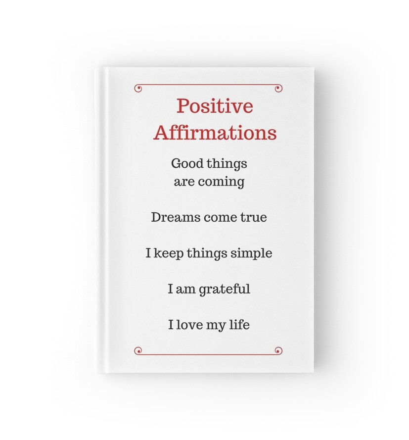 Positive affirmations term papers