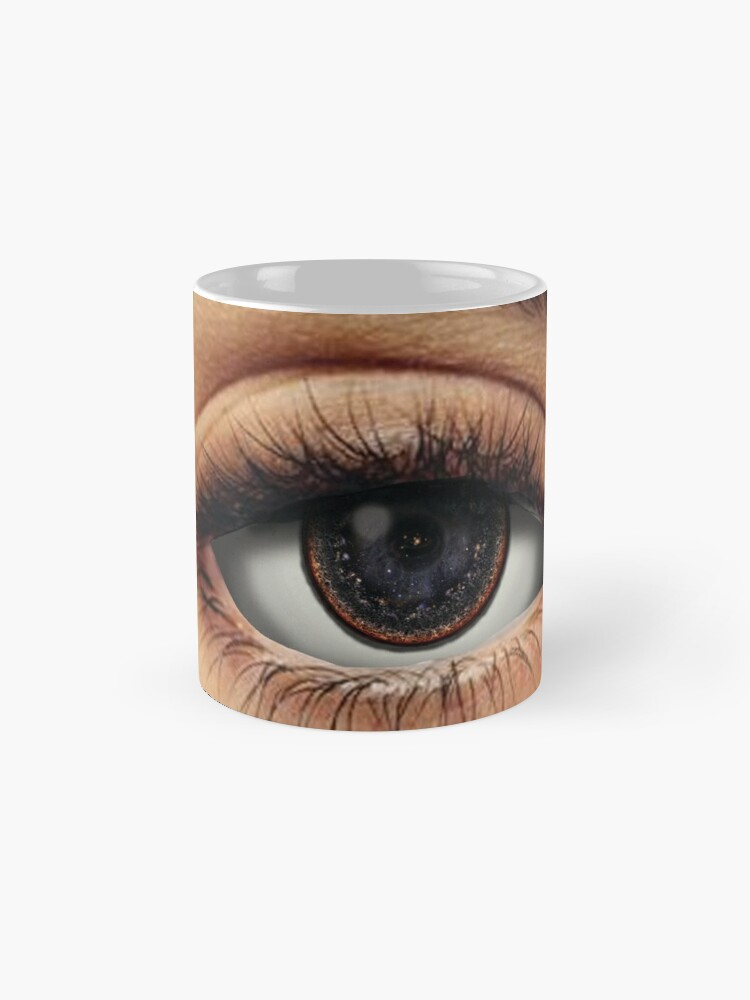 Alternate view of Eyes of the Universe Mugs