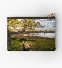 Seat Beside The Creek Fishbourne Isle Of Wight Zipper Pouch