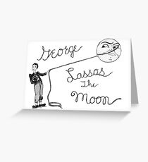 Moon Capture Greeting Card