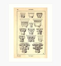 A Handbook Of Ornament With Three Hundred Plates Franz Sales Meyer 1896 0226 Supports Capital Art Print
