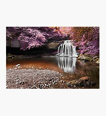 Fantasy Falls - West Burton Photographic Print