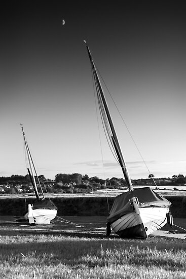 Blakeney Rest BW by Andy Freer