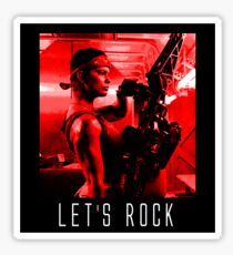Let's Rock Sticker