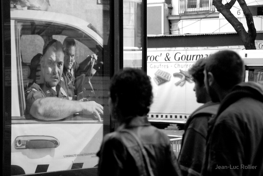 Paris - Bad guys. by Jean-Luc Rollier