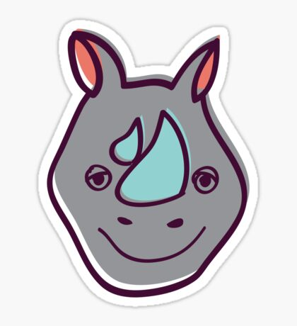 Rhino Sticker