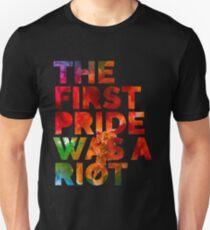 Pride Parade Shirt NYC 50th Anniversary Gay LBGTQ Rights Slim Fit T-Shirt