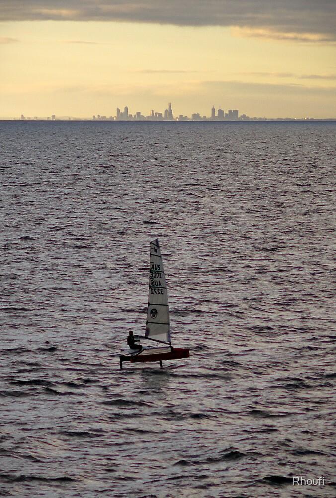 Yacht On Stilts by Rhoufi