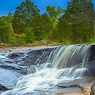 The Waterfall in HDR by vasasphoto