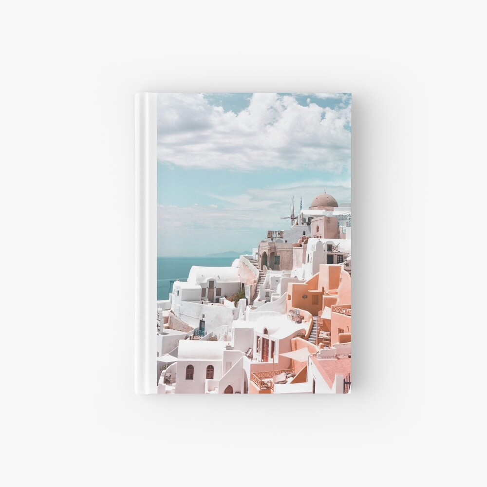 Santorini Oia Greece Hardcover Journal