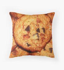Cinnamon Chip Chocolate Chunk Cookies Throw Pillow