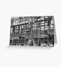 Building Site Greeting Card