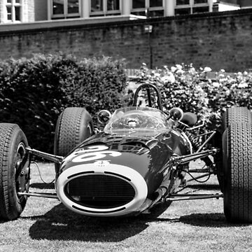 Vintage open wheel racing car #26 by bms-photo