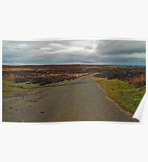 Moorland Road and Dallow Gill Poster