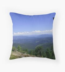 Umpqua National Forest Throw Pillow