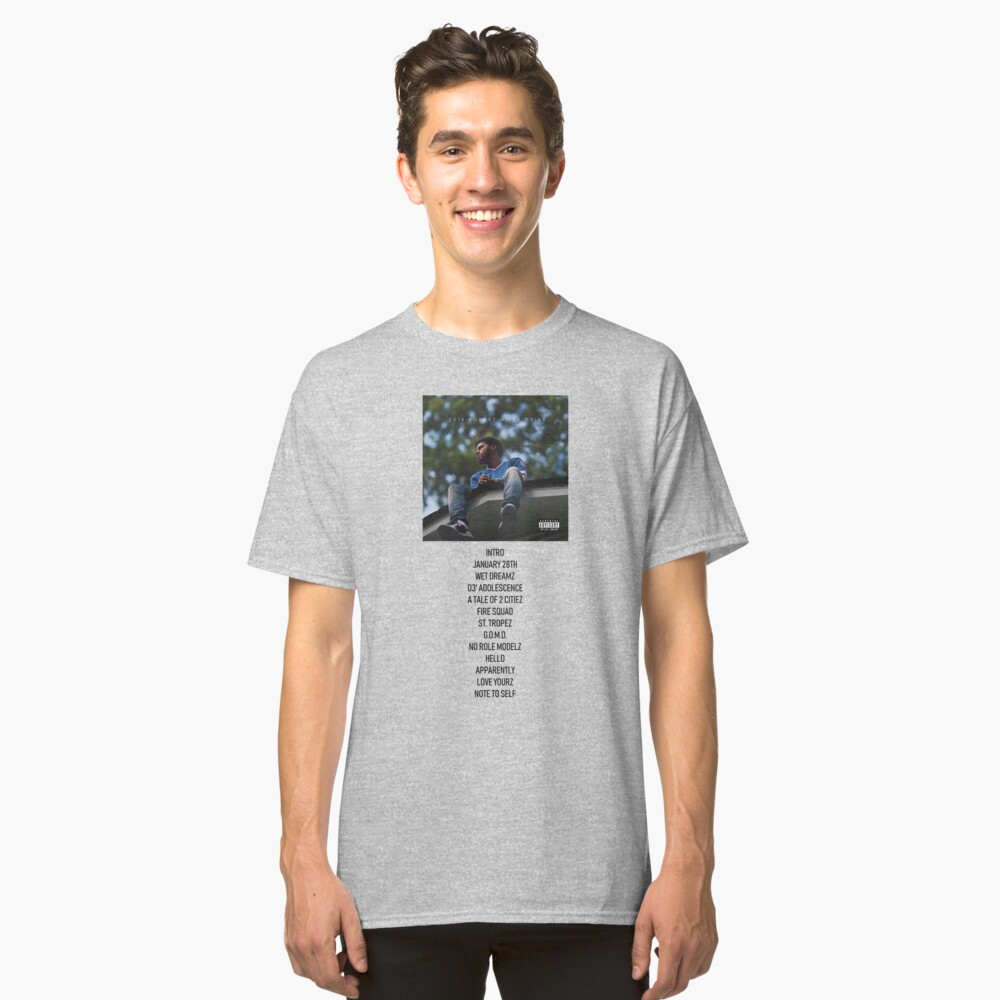 2014 Forest Hills Drive - Trackliste Classic T-Shirt