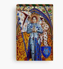 Saint Jehanne von Stuart Littlejohn Leinwanddruck