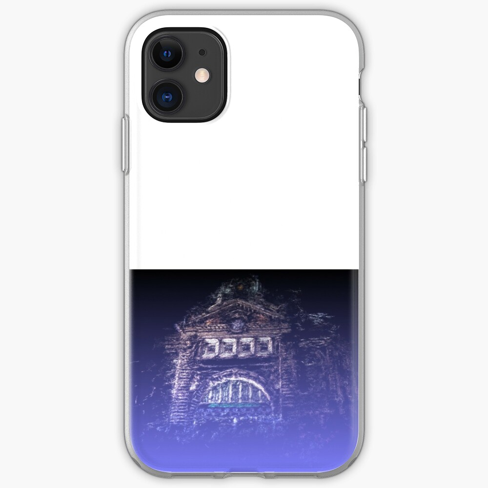 Flinders Street Station gothic point-cloud iPhone Case & Cover