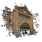 Flinders Street Station 3D by Mitchell Harrop