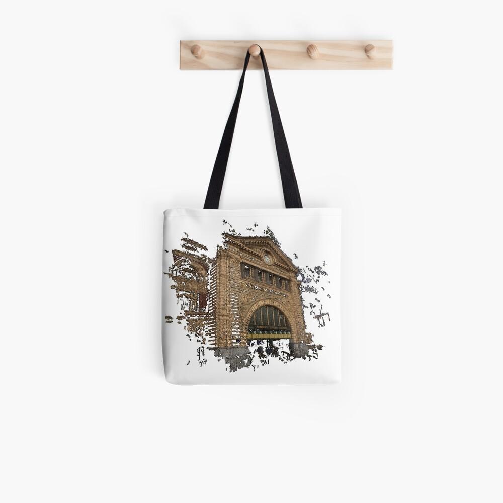 Flinders Street Station 3D Tote Bag