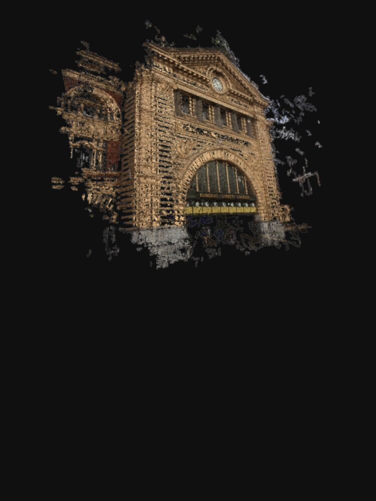 Flinders Street Station 3D by notamitchell