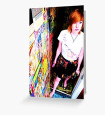 candy wrappers Greeting Card