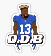 O.D.B. Sticker