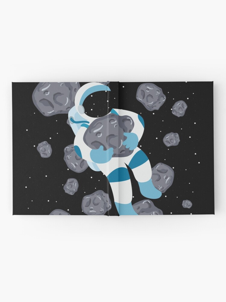 Alternate view of Asteroid Hugs Hardcover Journal