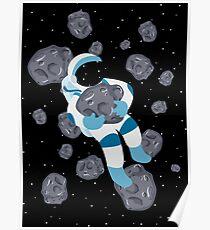 Asteroid Hugs Poster