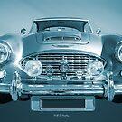 1961 Austin Healey Blue by Hawley Designs
