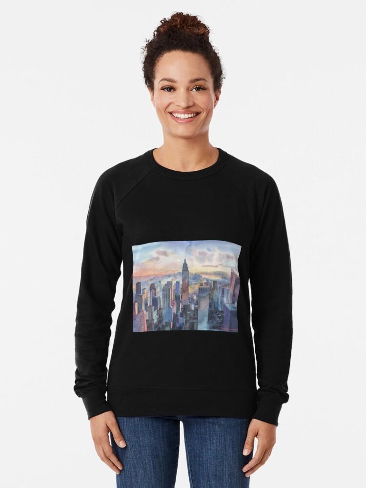 Alternate view of New York Lightweight Sweatshirt