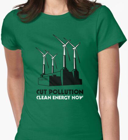Cut Pollution - Clean Energy Now T-Shirt
