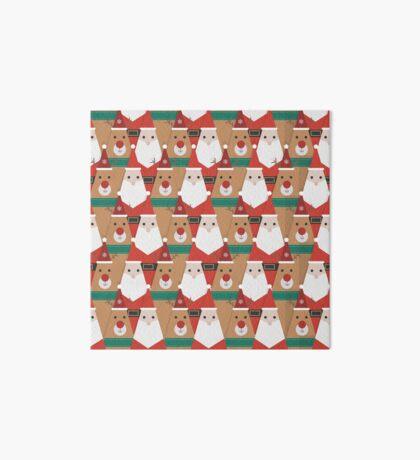 Christmas is Coming Art Board Print