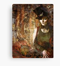Gears of Time Canvas Print