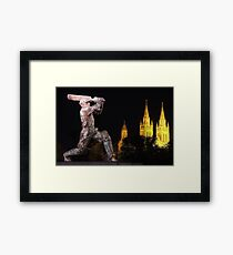 Sir Don Bradman Framed Print