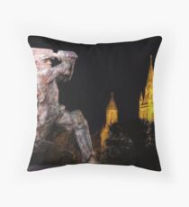 Sir Don Bradman Throw Pillow
