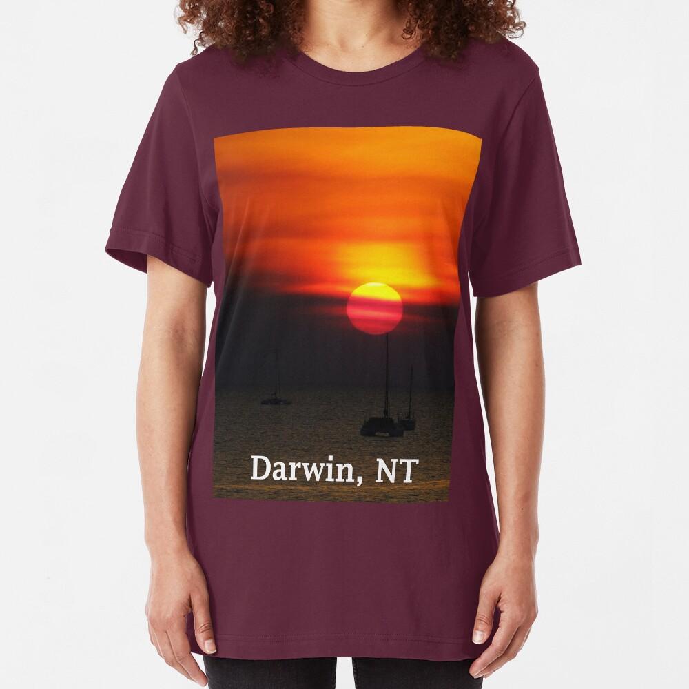 Darwin Sunset Slim Fit T-Shirt
